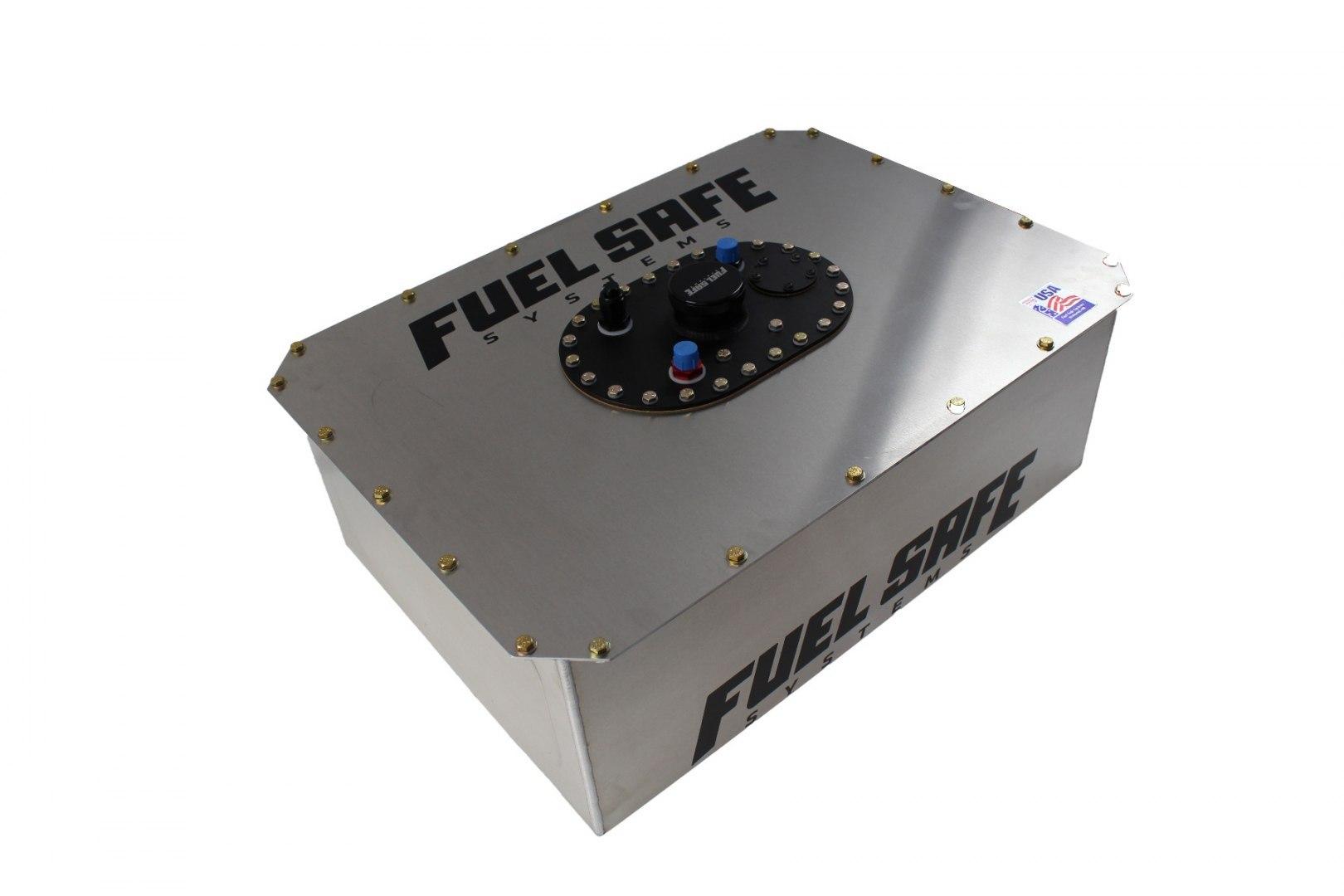 FuelSafe Zbiornik Paliwa 55L FIA z obudową aluminiową - GRUBYGARAGE - Sklep Tuningowy